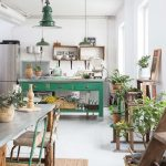bucatarie verde