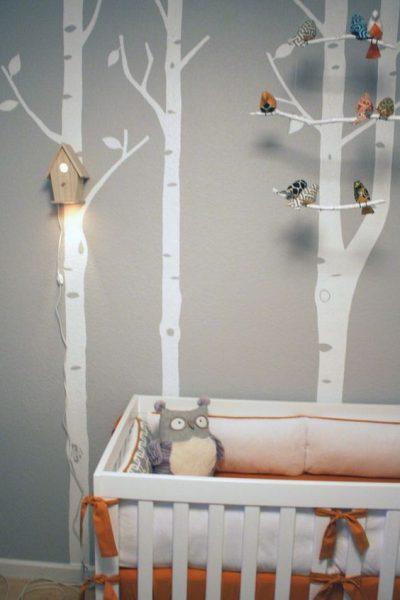 Sistem de iluminat camera copilului