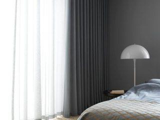 perdea dormitor clasica