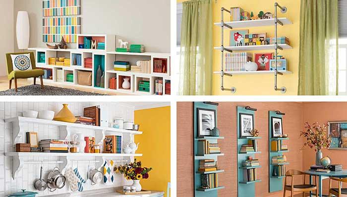spații depozitare creative