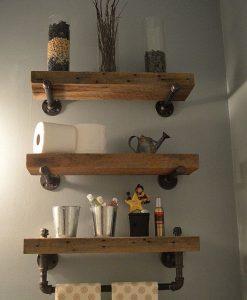 rafturi lemn bai mici