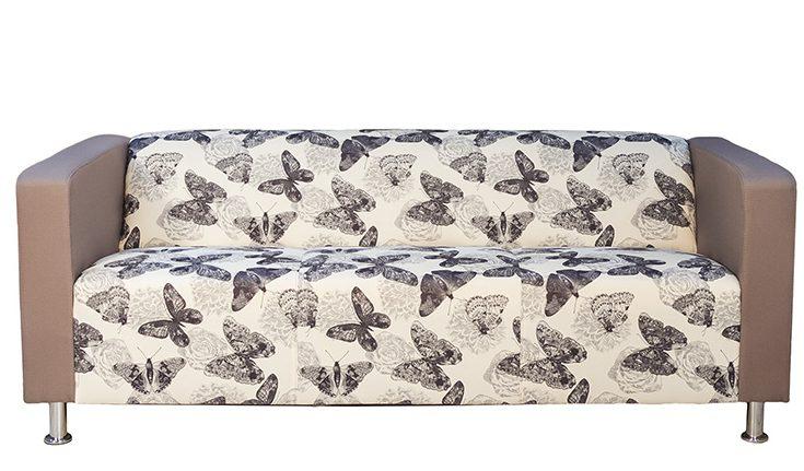 canapea fixă cu fluturasi