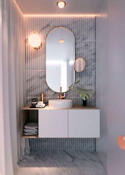 oglinda cu dulap baie