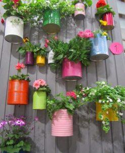 perete decorativ gradina