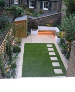 amenajare gradina minimalista