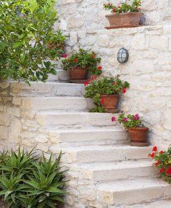 amenajare gradina in stil mediteranean