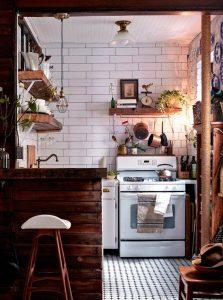 bucatarie mica in casa de vacanta