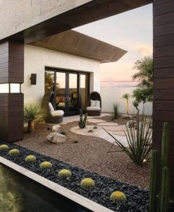 gradina minimalista