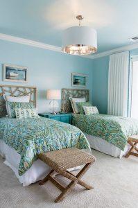 decor dormitor albastru