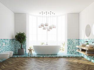 mobilier baie colorat