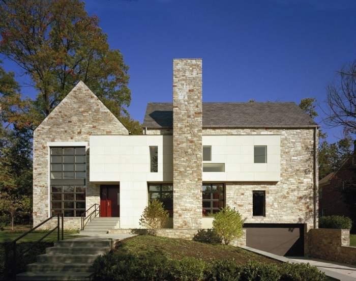 fachadas clasicas estilo tradicional 10