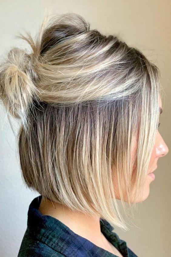 5 idei de styling pentru părul scurt